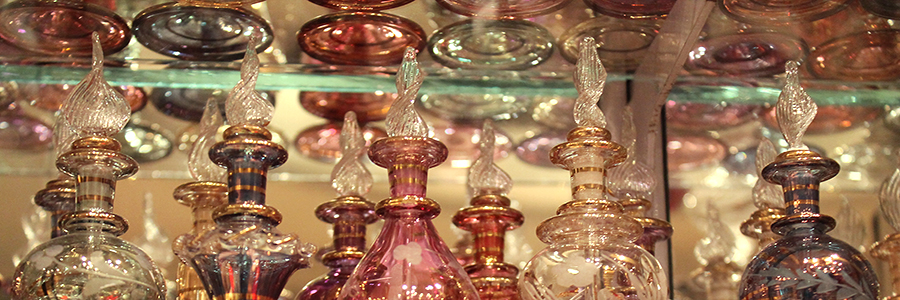 Egyptian Perfume Bottles