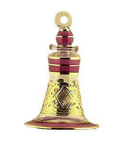 Red Bell Large Christmas Ornaments